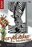 Acrylbilder in Schwarz-Weiss: Stilvolle Motive auf Keilrahmen