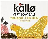 Kallo Foods Organic Chicken Stock Cube 51 g (Pack of 5)