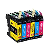 JIMIGO LC223 Druckerpatronen Ersatz für Brother LC 223 Tintenpatronen Kompatibel mit Brother J5320DW J4120DW J480DW J4420DW J562DW J880DW J4620DW MFC-J5320DW DCP-J4120DW MFC-J480DW MFC-J4420DW