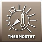 Einhell Elektro Heizer EH 3000 (3000 Watt, 2 Heizstufen und Ventilatorbetrieb, Thermostat, Spritzwasserschutz, Tragegriff, robustes Gehäuse) für Einhell Elektro Heizer EH 3000 (3000 Watt, 2 Heizstufen und Ventilatorbetrieb, Thermostat, Spritzwasserschutz, Tragegriff, robustes Gehäuse)