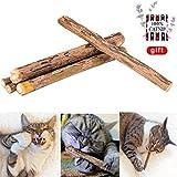 Handfly 100% NATUR - 100%iger Minzezweig Katzenminze Katzenspielzeug 5 Sticks