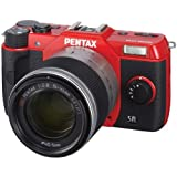 Pentax Q10 12MP 1/1.7-inch CMOS Mirrorless Camera with 5-15mm Zoom Lens (Red)