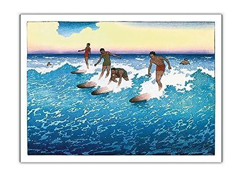 Coureurs De Surf Honolulu, Hawaï - Inspiré Par Internaute Duke