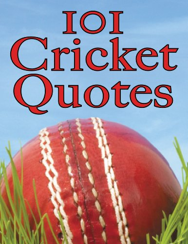 101 Cricket Quotes (English Edition) por Crombie Jardine