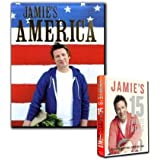 Jamie's America & Jamie's 15 Minutes Meals Collection Jamie Oliver 2 Cooking ...