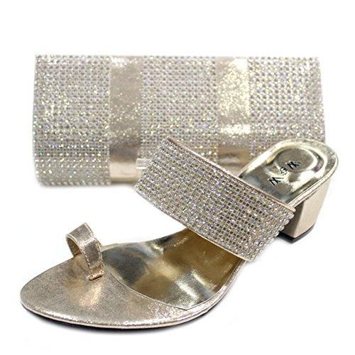 Wear & Walk UK , Pochette pour femme Or - doré