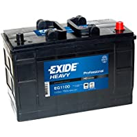 W663SE Exide Heavy Duty Commercial Professional Battery 12V 110Ah EG1100 - ukpricecomparsion.eu