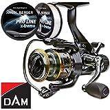 DAM Quick Camaro FS Freilaufrolle gratis Pro Line x-treme Schnur (630 FS)