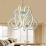 Moderne LED-Kronleuchter Wohnzimmer Lampe Persönlichkeit Aluminium Schlafzimmer Kronleuchter Kreative Restaurant Höhe Mit Verstellbaren Pendelleuchte