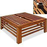 Schirmständer Abdeckung Holz - Holzabdeckung Sonnenschirmständerabdeckung Sonnenschirmständer