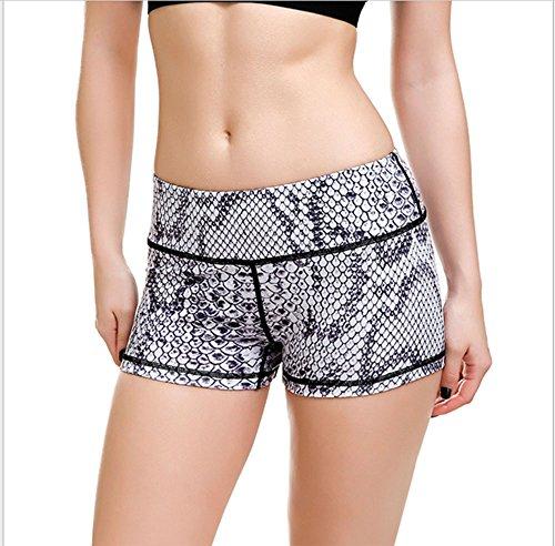 Hoverwings Shorts de course Mme loisirs respirant un pantalon de yoga à séchage rapide dimpression Slim femmes (XL, 2) 3