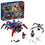 Lego Super Heroes - Spider-Man Vs. Doc Ock, Juguete de Construcción 2 en 1 del Universo Marvel, Incluye Una Moto y Minifigura de Spider-Girl, Novedad 2020 (76148)