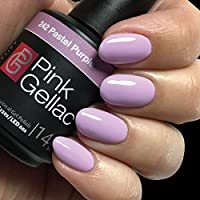 Color de pintauñas permanente Pink Gellac 242 Pastel Purple