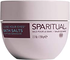 Sparitual Close Your Eyes Bath Salts, 218 Gram