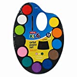 Stalwart U-80484 Children\'s Artist Paint Set, 12 Colours