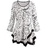 Blusa para Mujer Primavera BBestseller Moda Casual Top De Manga Larga Estampada Camisetas Personalizadas Camisas para Mujer