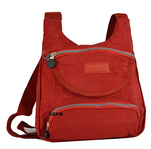 GFM Fashion, Borsa a tracolla donna Multicolore multicolore Small XS1VLL - Red