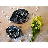 Keramik-Rosen, 2 Stück, frei mod