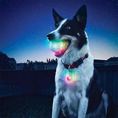 Ausomely Blinkender Ball Hundespielzeug Ball Light-up B…   00075639435783