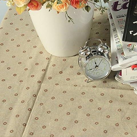 Daisy Longzhi fil dentelle nappe nappe table ronde table cloth cloth couvrir , C 100*140cm
