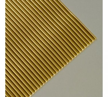 """EFCO """"Rund"""" Wachs Streifen, Gold BRILLIANT, 200x 2mm, 29"""