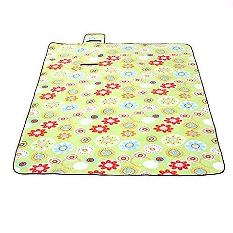Tragbar Picknick Decke Matte Teppich Handtücher Beach großen faltbaren Wasserdicht Langlebig sanddicht für Outdoor