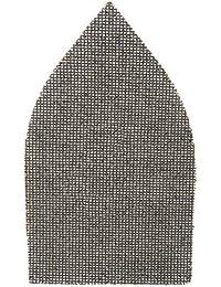 Silverline 918172 Lot de 10 Triangles abrasifs treillis auto-agrippant 175 x 105 mm grain 40