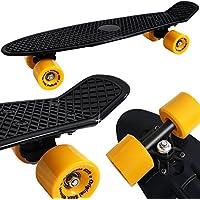 Planche à roulettes Skateboard - Retro Old School Design - Couleur au choix