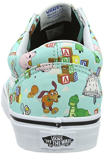 Vans Old Skool, Baskets Basses Mixte Adulte Multicolore (Toy Story)