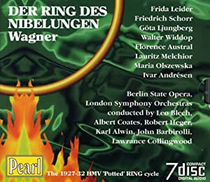 Wagner: Der Ring des Nibelungen (Gesamtaufnahme, 1927-1932, leicht gekürzt)