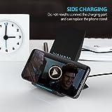 schnell-ladegerät kabellos, nanami wireless charger qi, 2aufnahmehülsen induktion schnelle für samsung galaxy s7/s6/s6edge plus und weitere kompatible geräte qi, schwarz - 51vGPfY1yDL - Schnell-Ladegerät Kabellos, Nanami Wireless Charger Qi, 2Aufnahmehülsen Induktion Schnelle für Samsung Galaxy S7/S6/S6Edge Plus und weitere kompatible Geräte Qi, Schwarz