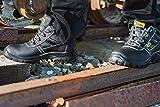 Black Hammer Männer Leder Sicherheitsstiefel S3 - 5