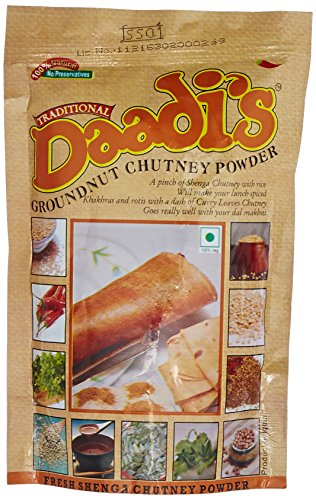 Daadi's Chutney Powder, Groundnut, 100g