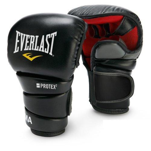 Everlast Herren MMA-Handschuhe, Trainingshandschuhe, für Grappling und Boxen, GrößeS/M - Everlast Punch-handschuhe