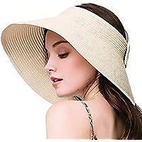 Nikgic Faltbare Sonnenhut Damen Sonnenschutz UV-Schutz Hüte Sonnenhut Strandhut Mützen Fischenhut Sonnenhut Hut
