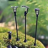 3pcs Mini schönenStraßenbeleuchtung Dekorativefür einem warmenFamilienleben oder ein schönen Zimmer und Garten