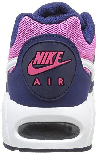 Nike Wmns Air Max Ivo, Chaussures de Sport Femme, 37,5 EU Bleu - Azul (Loyal Blue / White-Pink Blast)