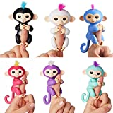 Magicwand Funny Baby Monkey with 6 Interactive Modes (Multicolour)-Set of 1