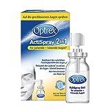 Optrex ActiSpray 2in1 für juckende + tränende Augen, 10 ml