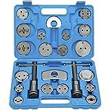FreeTec Resetter de pistón KIT Reposición Pistón de freno pistón Placa trasera - Set pistón rücks Plato 22 piezas