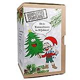 KRONLY Wichtelgeschenk Tannenbaum Anzuchtset Weihnachtsbaum - Nikolausgeschenk witzige Geschenkidee Adventskalender Füllung - Stocking fillers Merry Christmas