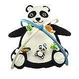 Gazechimp Tapis de Jeux et d'Eveil Bébés Forme Animal 0-3 Ans Sac de Couchage Bébés Gymnastique Coton Doux Maison Voyage - Panda