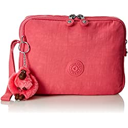 85eb0594f Kipling Donnica, Bolso Mochila para Mujer, Rosa (City Pink), 15x24x45 cm