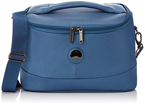 Delsey Beauty Case da viaggio, 25 cm, Blu
