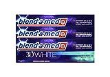 3x blend-a-med 3 in 1 3D WHITE Zahnpasta 75 ml Soft Mint