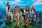 Schmidt Spiele - Playmobil Ritterburg mit Figur, 100 Teile Puzzle