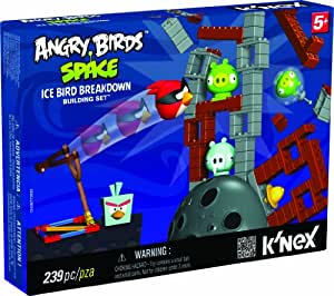 Angry Birds - T72023 - Jeu de Construction - Coffret Ice Bird Breakdown - Space Building Set