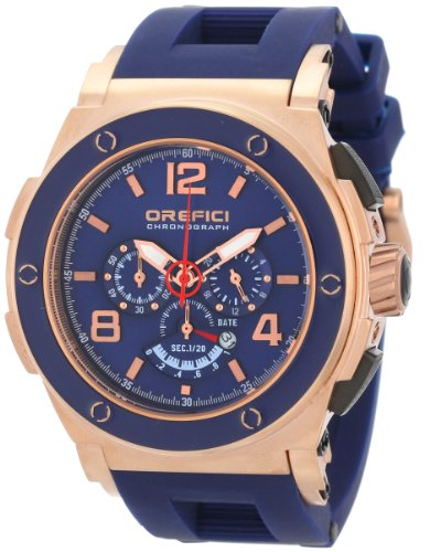 Orefici Unisex ORM1C4808 Regata Chronograph Strong Bold Powerful Italian Watch