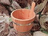 SAUNA Cestino per infusione aus PEFC zertifizierten legno di larice 5liter