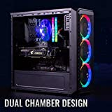 Electrobot i5 9th gen 6 core - Upto 4.10 Ghz, 8GB DDR4 2400Mhz, AMD RX 580 8GB, 120GB SSD, 1TB HDD, Gaming PC with 3…
